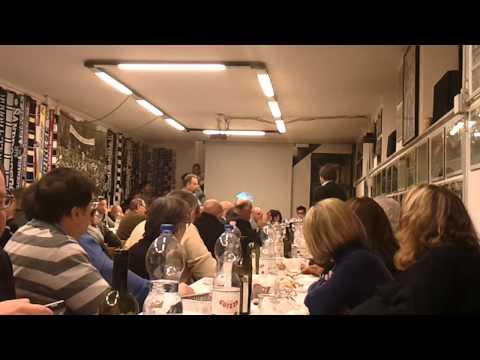 Cena Fedelissimi con Conte 27/01/2011