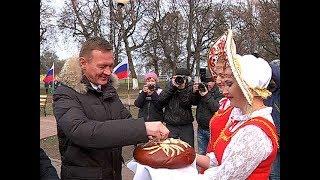 Роман Старовойт посетил сельхозпредприятия Глушковского района