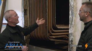 Looking at a Cutaway of a Watertube Furnace