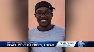 19-year-old dies saving 2 kids at McKinley Beach