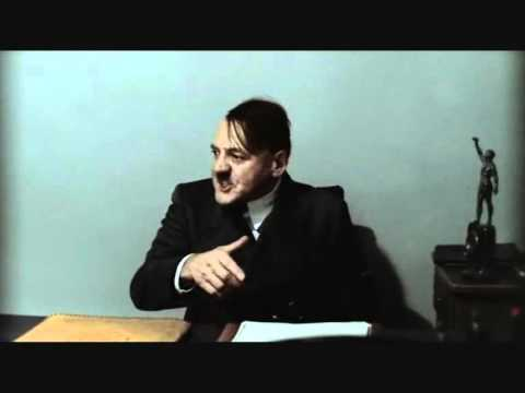 Hitler is informed of a tornado warning