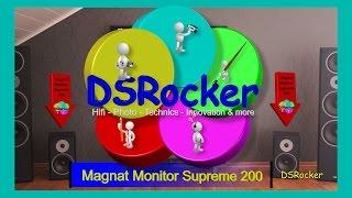 Magnat Monitor Supreme 200 vs. Supreme 2000 Unboxing, Review & Sound Check [1080p] (DSRocker)