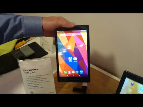 MWC – Lenovo new tablet range demo and hands on