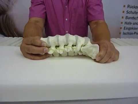 Der Heilsport bei der Osteochondrose in fortgeschrittenem Alter