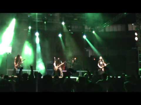 Nervochaos - Infernal Words live Avalanche Metalfest 2012 IV edition