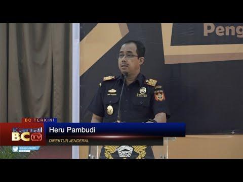 Penyerahan NPPBKC Perdana Kepada Pengusaha Pabrik HPTL (Vape)