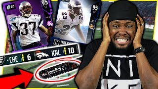 RAGE!! THE FEELING WHEN YOU'RE LOSING TO SOMEONE YOU CAN BEAT!! - Madden 18 Gameplay