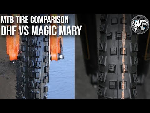 MTB Tires | Maxxis Minion DHF vs. Schwalbe Magic Mary - Which is Best?
