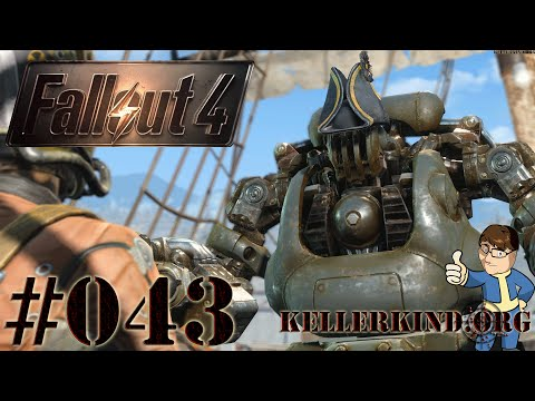 Fallout 4 [HD|60FPS] #043 - An Bord der USS-Constitution ★ Let's Play Fallout 4