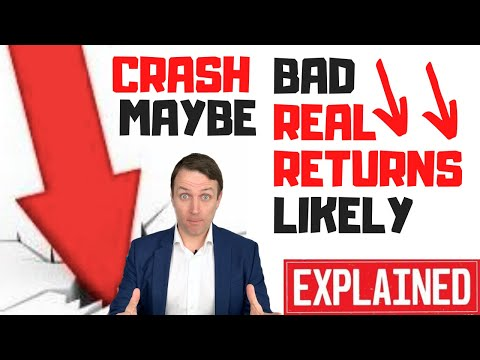 , title : 'Stock Market Crash Ahead Maybe - But BAD REAL RETURNS VERY LIKELY :-(((
