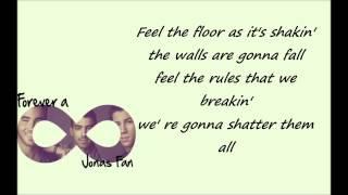 Jonas Brothers - Let's Go (Lyrics)