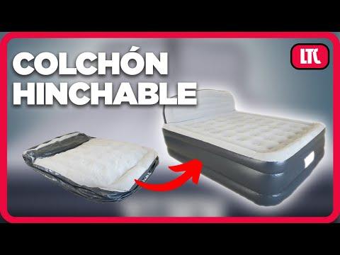 Superconfort: Colchón hinchable + sábana bajera de REGALO