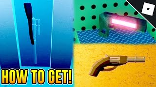 How to get the SNIPER RIFLE, PLASMA PISTOL AND THE REVOLVER in JAILBREAK | Roblox