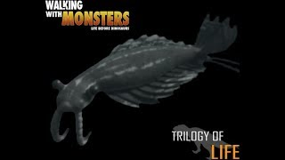 "TRILOGY OF LIFE - Walking with Monsters - ""Anomalocaris saron"""