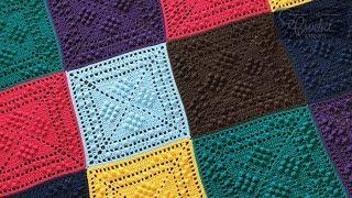 Crochet Sheldon Squared Blanket
