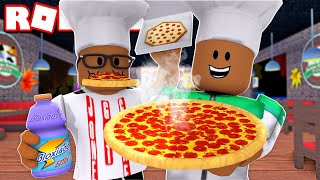 2 PLAYER WORK AT A PIZZA PLACE IN ROBLOX