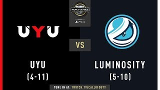 UYU vs Luminosity Gaming | CWL Pro League 2019 | Division A | Week 8 | Day 2