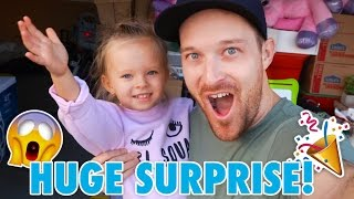 HUGE NEW HOUSE SURPRISE!