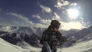 Verbier Freeride with GoPro