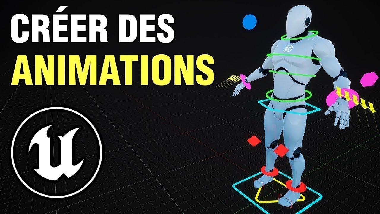 Animation de Personnage sur Unreal Engine 4 avec Control Rig   Tuto UE4 FR
