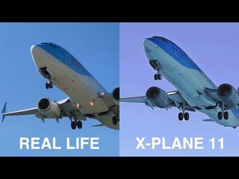 X-Plane 11 vs Real Life