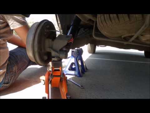 Amortiguadores traseros del auto