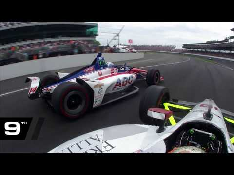 Santino Ferrucci's drive from 23rd to 7th at the 2019 Indy 500