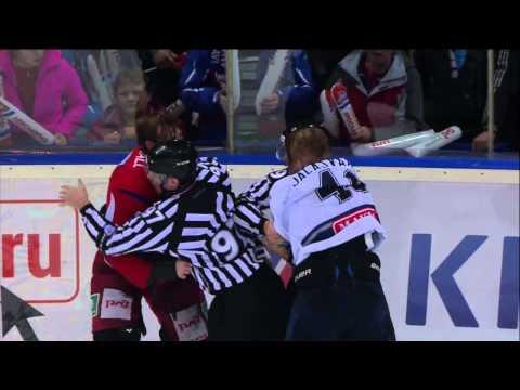 Staffan Kronwall vs. Janne Jalasvaara
