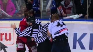 Бой КХЛ: Кронвалль VS Яласваара / KHL Fight: Kronwall VS Jalasvaara