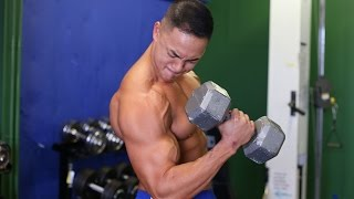 Monster Bicep Peaks Workout by SixPackAbs.com