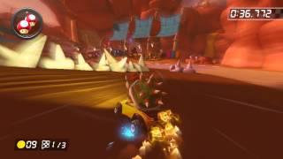 Bone-Dry Dunes - 1:52.729 - つられうさぎ (Mario Kart 8 World Record)
