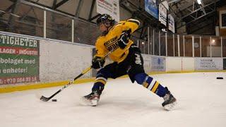Improve your hockey skills with high end Swedish hockey training