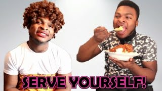 When African Parents Tell You To Serve Yourself