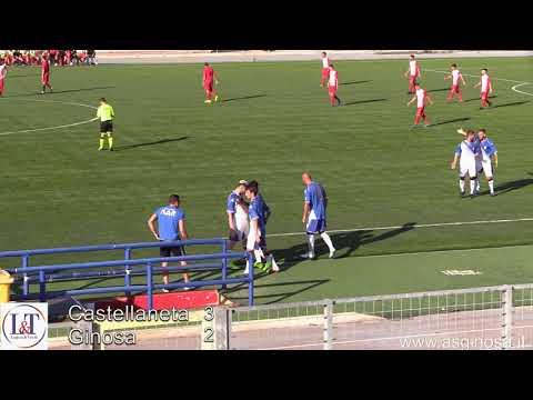 Preview video CASTELLANETA-GINOSA 3-2 Sfortuna e arbitro dormiente penalizzano il Ginosa.