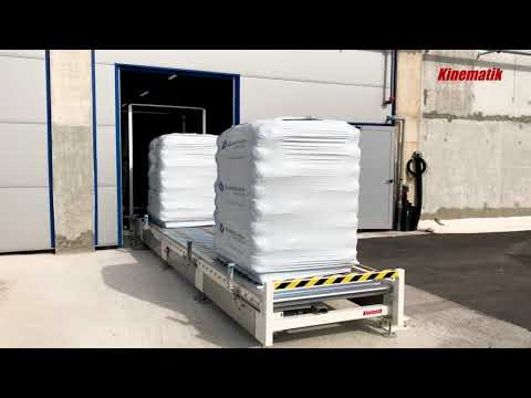 Pallet Conveyor Line with Lift - Pallet Conveyor System
