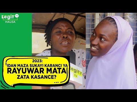 2023: Idan maza suka yi karanci, ya rayuwar mata za ta kasance? | Legit TV Hausa