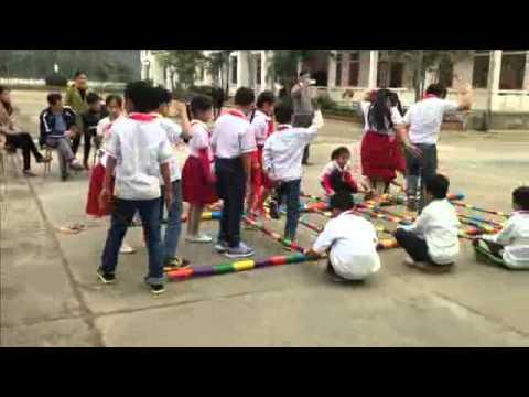 Hoạt động giáo dục ngoài giờ - Tổ chức trò chơi nhảy sạp
