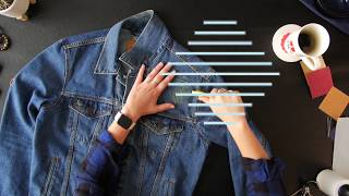 How To Perfectly Distress A Denim Jacket   Ties.com