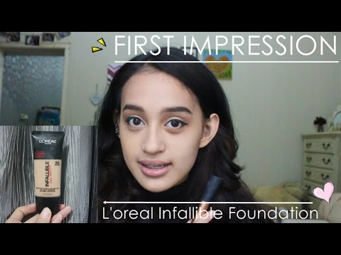 FIRST IMPRESSION L'oreal Infallible Pro Matte Foundation