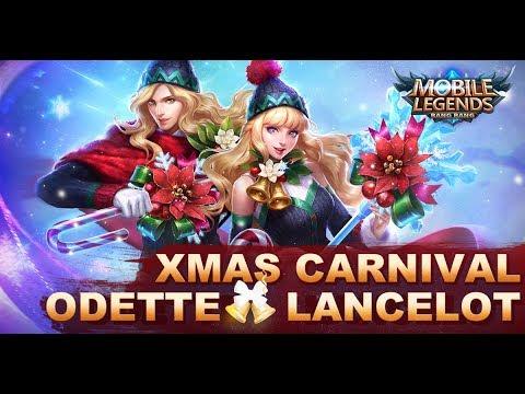 Mobile Legends: Bang Bang! New Skins Xmas Carnival Odette x Lancelot