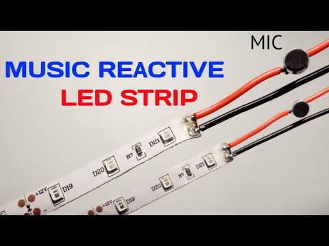 How to Make Music Reactive LED Strip   Using Microphone