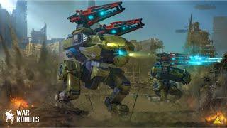 War Robots: BULWARK Dragoon Build | Shenzen Map GAMEPLAY [TS 3.9]