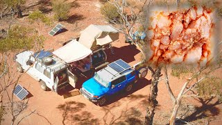 Living Off Grid to detect for Gold in Outback Australia