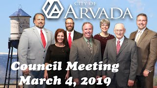 Preview image of City Council Meeting - March 4, 2019
