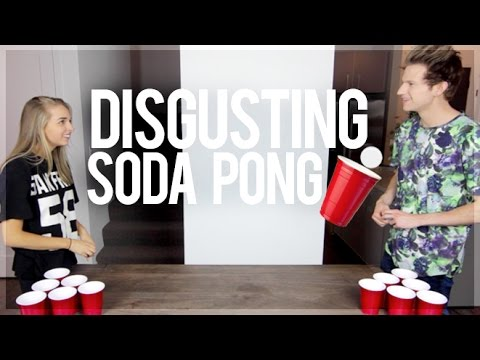 DISGUSTING SODA PONG (w/ RICKY DILLON)