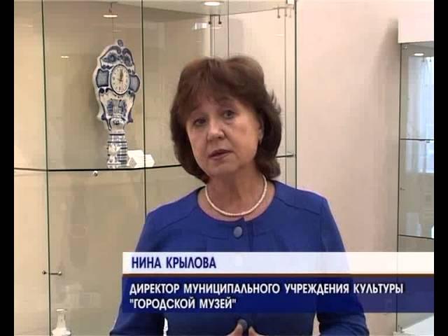Выставка в зимних красках открылась в Музее часов