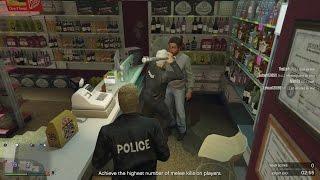 GTA 5 Online: Tập 14 - Cả Bọn Cùng Đi Cướp Tiệm Tạp Hoá