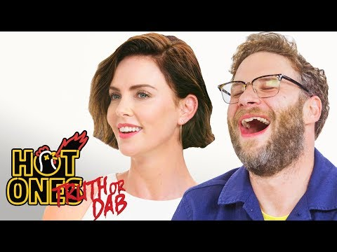 Charlize Theron and Seth Rogen Play Truth or Dab