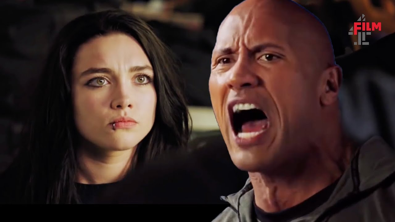 >The Rock gives Florence Pugh & Jack Lowden some tips in Fighting With My Family | Film4 Clip