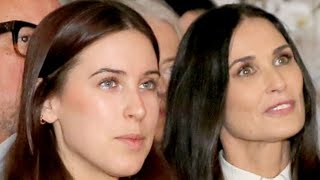 Dark Secrets Demi Moores Daughters Revealed About Their Mom